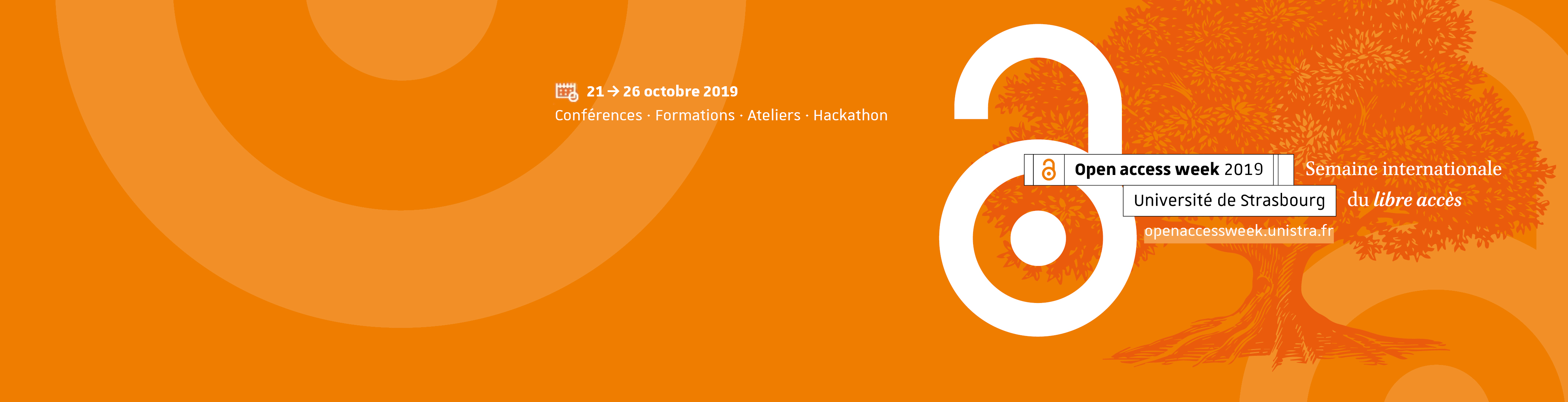 L'Open access week 2019 à Strasbourg – du 21 au 26 octobre 2019